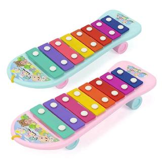 New Kids Baby Instrument Plastic Notes Xylophone Hand Knock Piano Music Toys