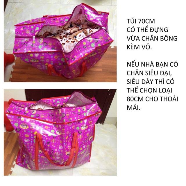 Túi Bạt Túi Dứa Túi Đựng Đồ Túi Bạt Có Dây Kéo Túi Vải Bạt Đựng Quần Áo( có nhiều kích cỡ )