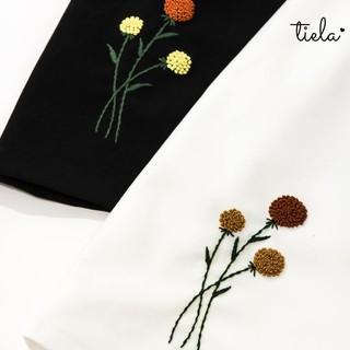 TIELA Chân váy thêu hoa Bi thumbnail