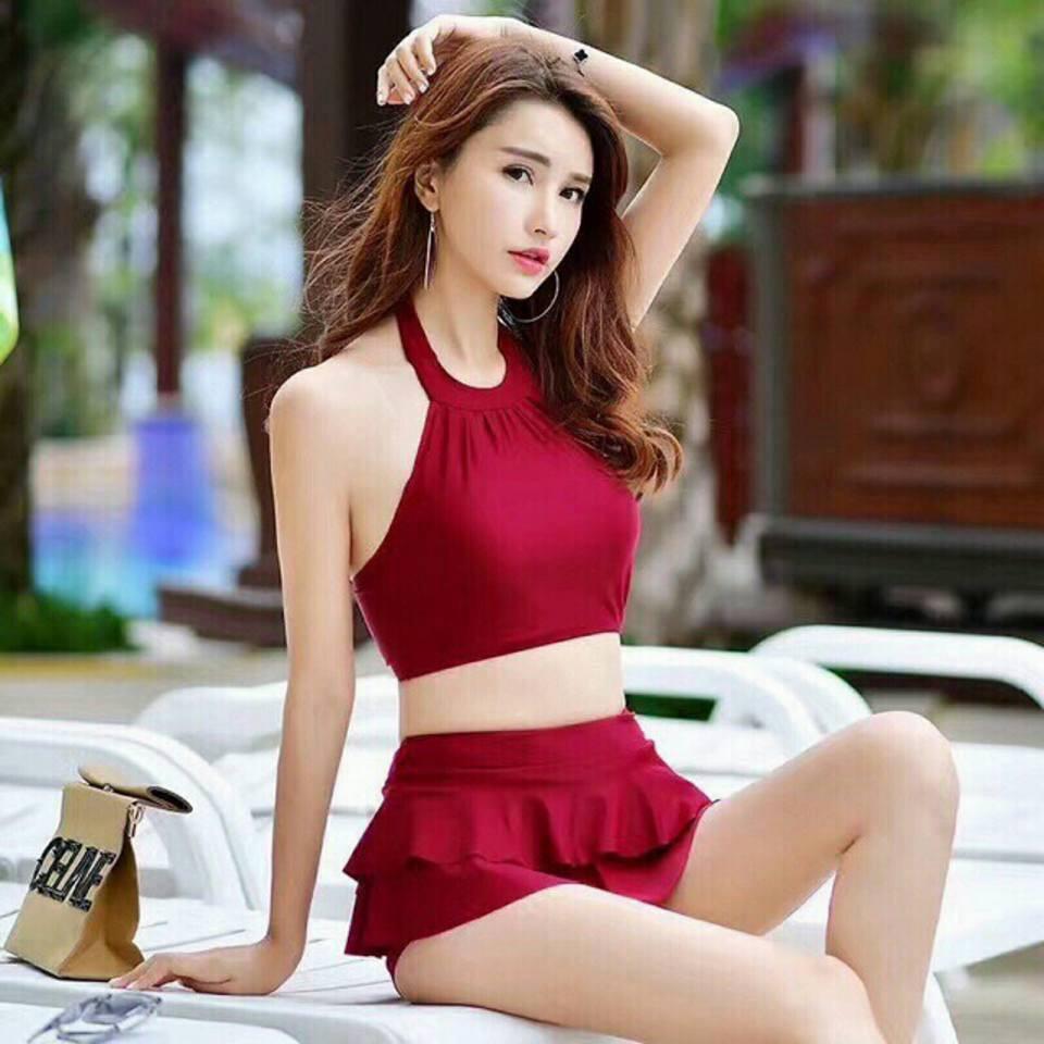 Bộ đồ bơi nữ đẹp - Đồ tắm biển dạng váy  Bộ đồ bơi nữ dễ thương phong cách Hàn Quốc - Bikini và áo t - 3443304 , 1200670986 , 322_1200670986 , 280000 , Bo-do-boi-nu-dep-Do-tam-bien-dang-vay-Bo-do-boi-nu-de-thuong-phong-cach-Han-Quoc-Bikini-va-ao-t-322_1200670986 , shopee.vn , Bộ đồ bơi nữ đẹp - Đồ tắm biển dạng váy  Bộ đồ bơi nữ dễ thương phong cách H