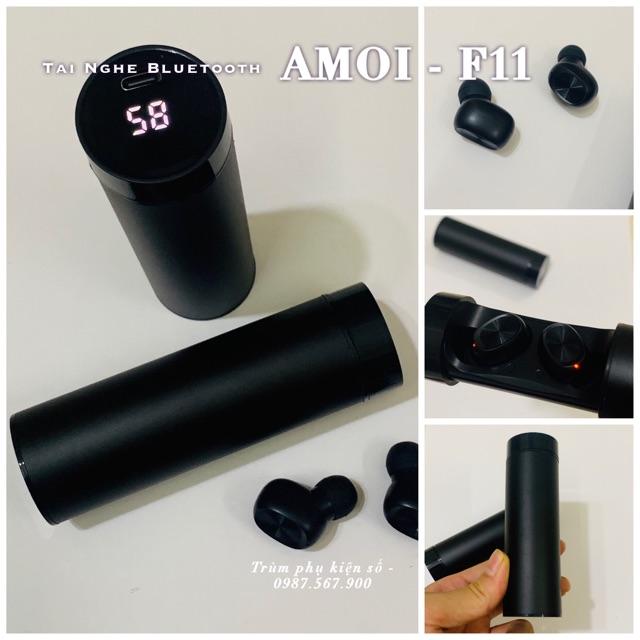 [Mã 267ELSALE hoàn 7% đơn 300K] Tai Nghe Bluetooth Amoi F11 phân Phối Chính Hãng Amoi.