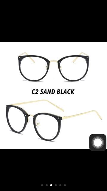 Order mắt kính kim loại mỏng Quỳnh Thi hot trend 2020