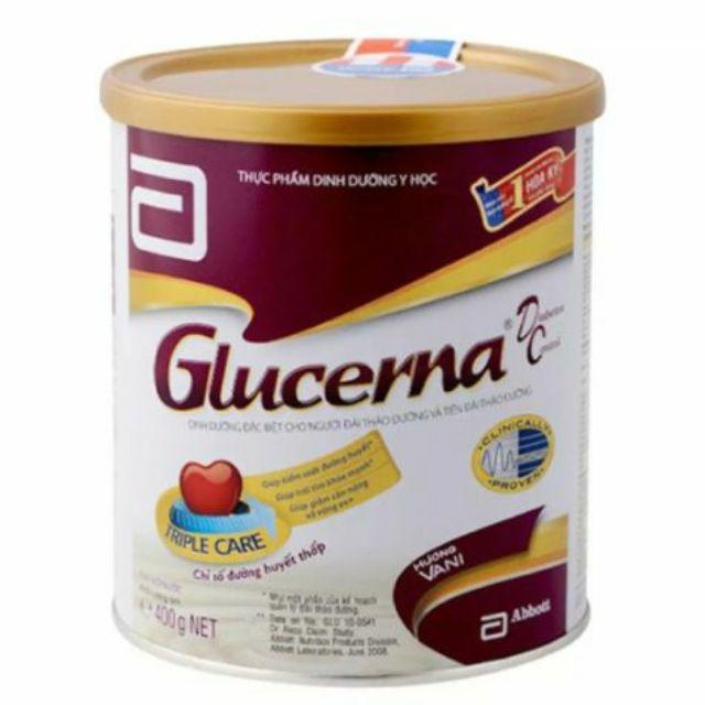 {BÁN LẺ GIÁ SỈ} Sữa bột Glucerna Vani 400g. Date 2020