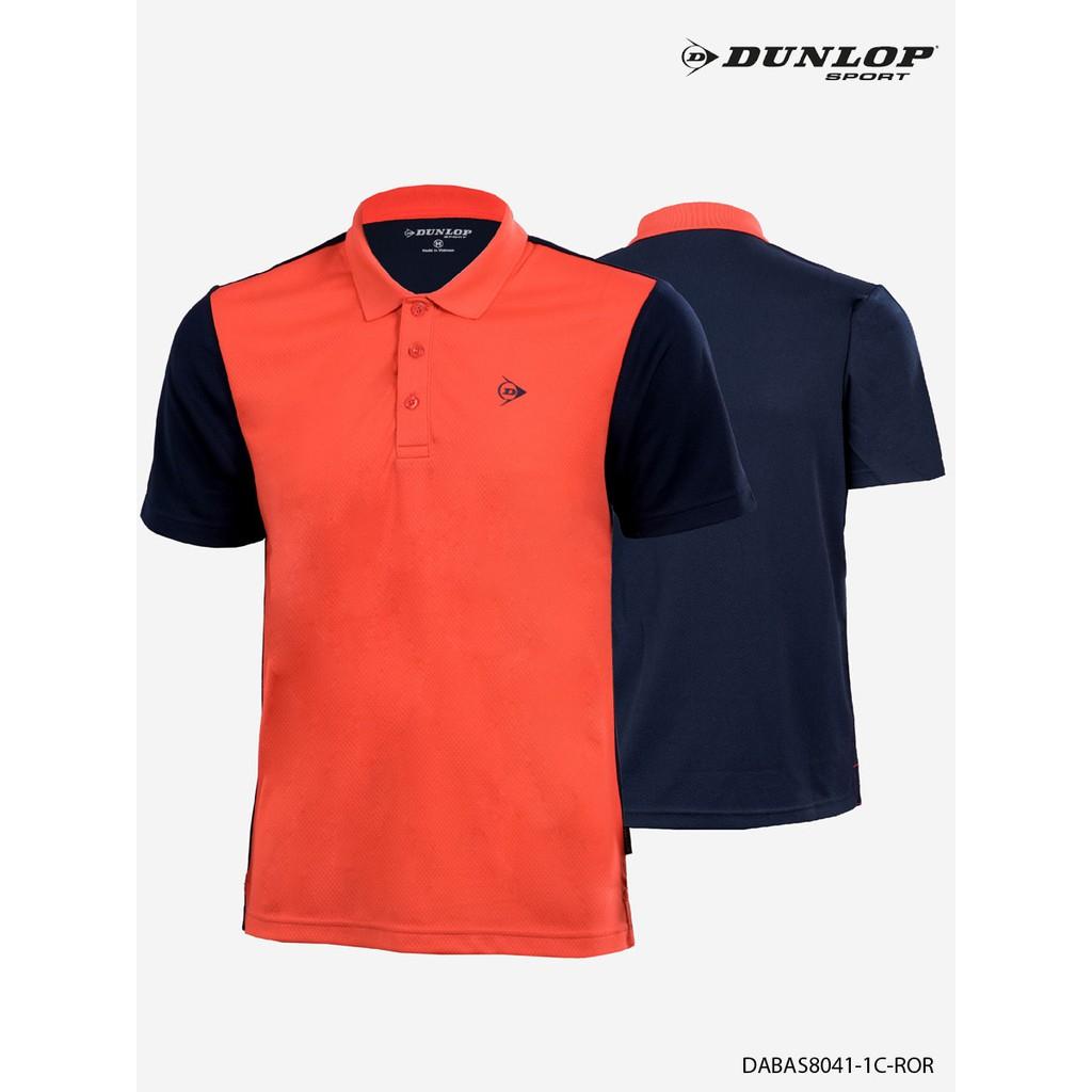 Áo thun thể thao Nam Dunlop - DABAS8041-1C-GRK