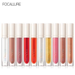 Hình ảnh FOCALLURE PLUMPMAX High Shine & Shimmer Lip Gloss 10 màu 3g 1pc-2