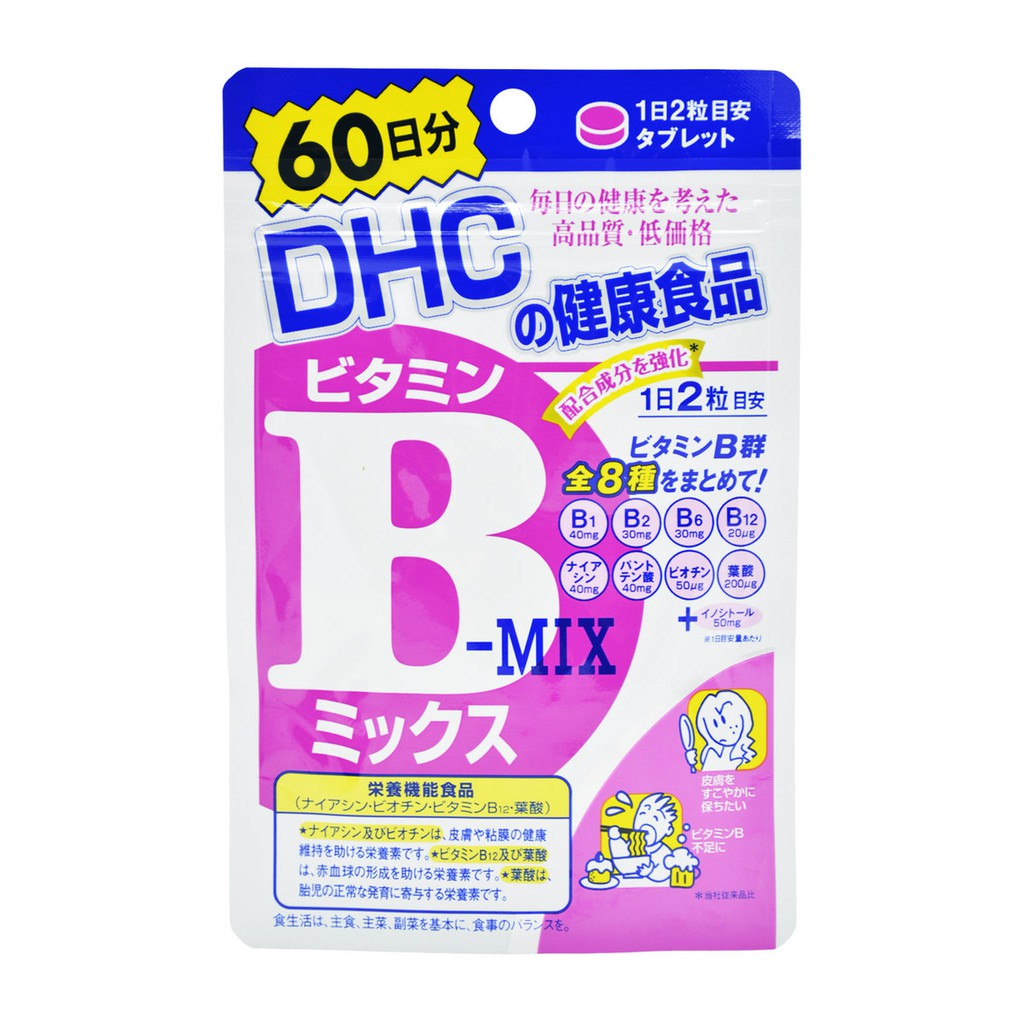 [HÀNG AIR - DATE] Viên uống bổ sung vitamin B - mix DHC 60v