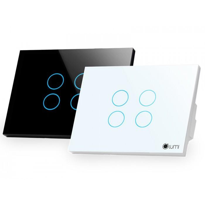 Công tắc cảm ứng thông minh 4 phím - nhà thông minh