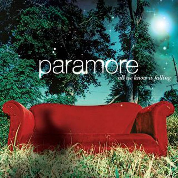 Paramore - All We Know Is Falling - Đĩa CD