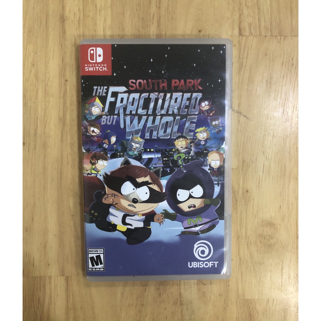 Đĩa game Nintendo Switch: South Park: The Fractured But Whole 99% full box
