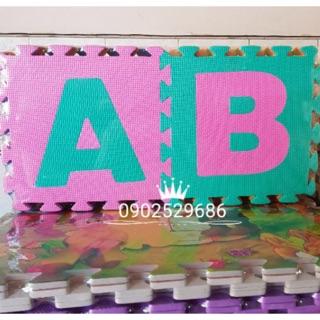 Thảm xốp ghép 26 chữ cái ( 30x30x1cm)