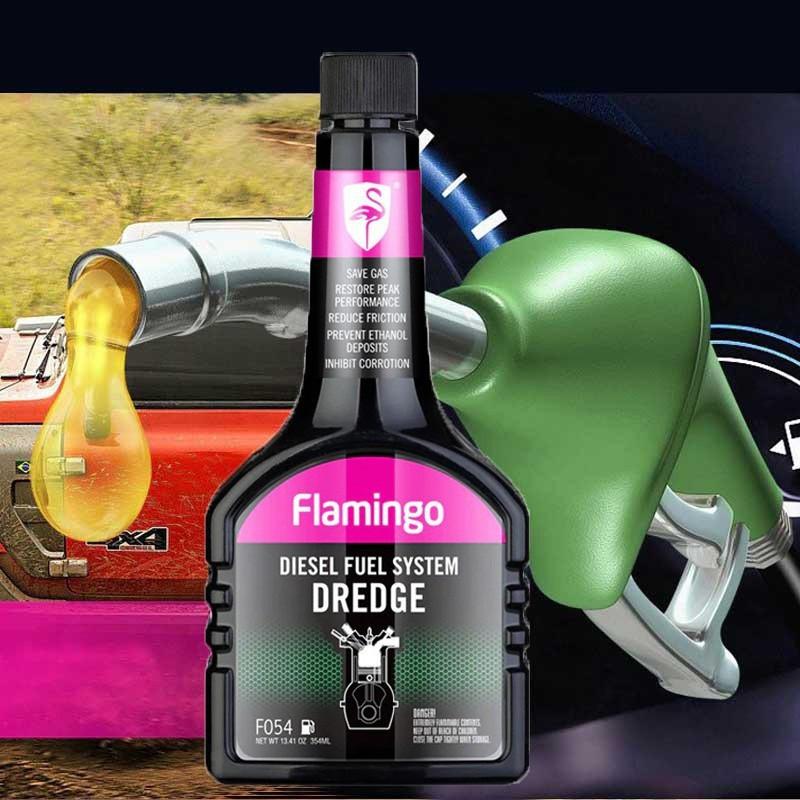 Phụ Gia Nhiên Liệu Dầu Flamingo F054 354ml - Hãng Phân Phối Chính Thức