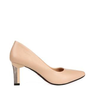 giày cao gót nữ 7p - giày công sở HT.NEO (9) da siêu mềm đi êm chân, kiểu dáng trẻ trung, gót tạo điểm nhấn CS163 thumbnail