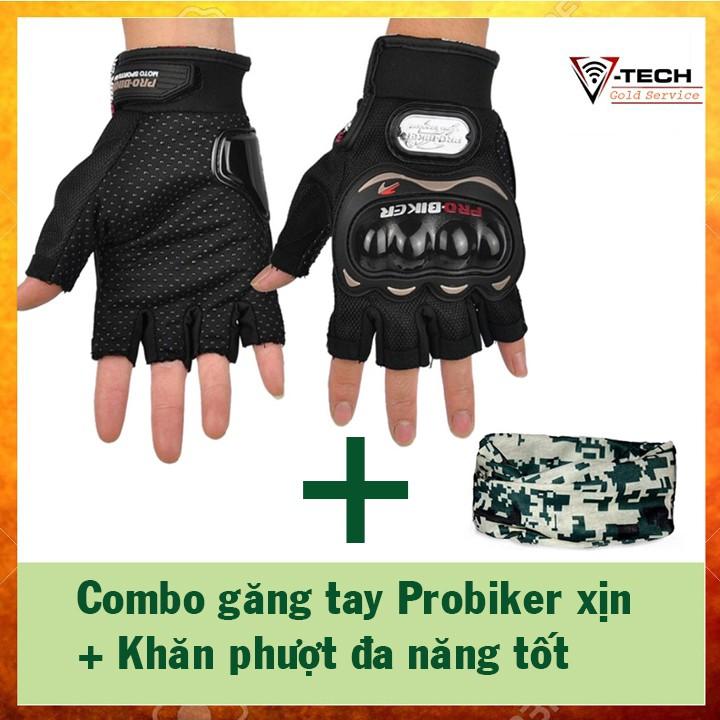 Combo găng tay hở ngón, chống nắng nam Probiker (xịn) + khăn phượt đa năng - 2977408 , 1133423265 , 322_1133423265 , 130000 , Combo-gang-tay-ho-ngon-chong-nang-nam-Probiker-xin-khan-phuot-da-nang-322_1133423265 , shopee.vn , Combo găng tay hở ngón, chống nắng nam Probiker (xịn) + khăn phượt đa năng