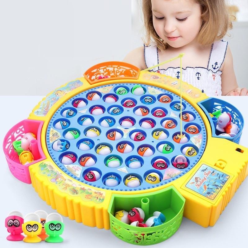 Bộ đồ chơi câu cá trẻ em – Trò chơi giáo dục cho bé trai và bé gái
