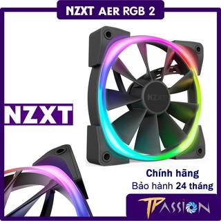 Quạt Tản Nhiệt Fancase NZXT AER RGB 2 120mm 140mm - Chính hãng BH 24 tháng, digital LED Rainbow thumbnail