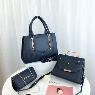 Combo bộ 3 túi xách nữ rẻ đẹp túi xách nữ công sở Hadas TXLAZE02