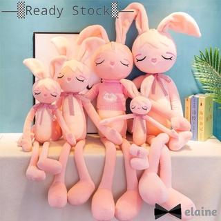 Plush Doll Pillow Cute Long Legs Rabbit Shape Stuffed Toy for Girlfriend Kids