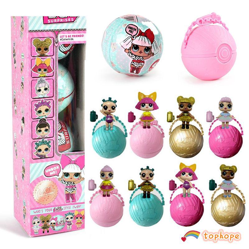 LOL Surprise Doll Surprise Egg Girl Creative Gift Doll Toy Surprise Ball Hope