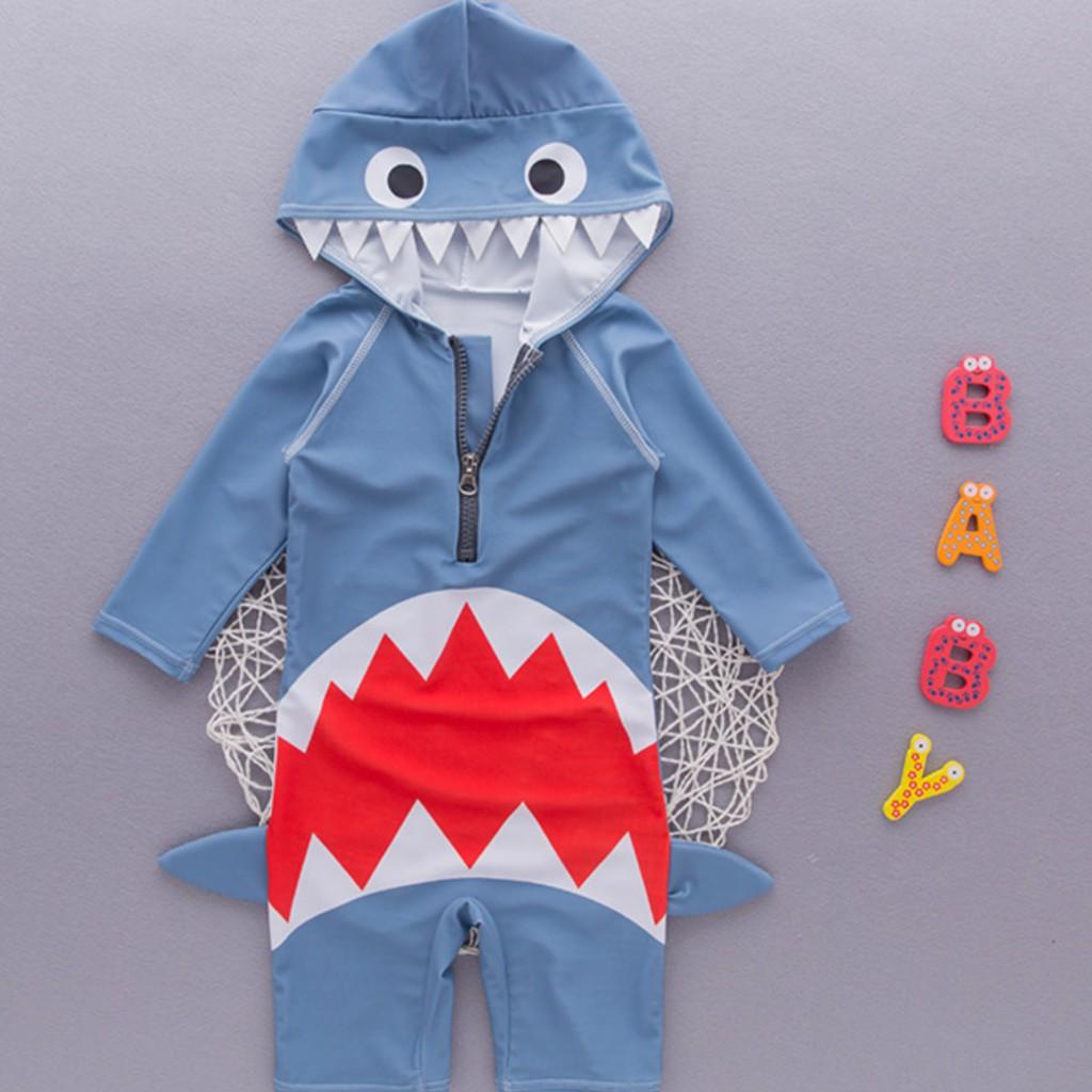 Bộ bơi liền ghi cá mập cho bé trai