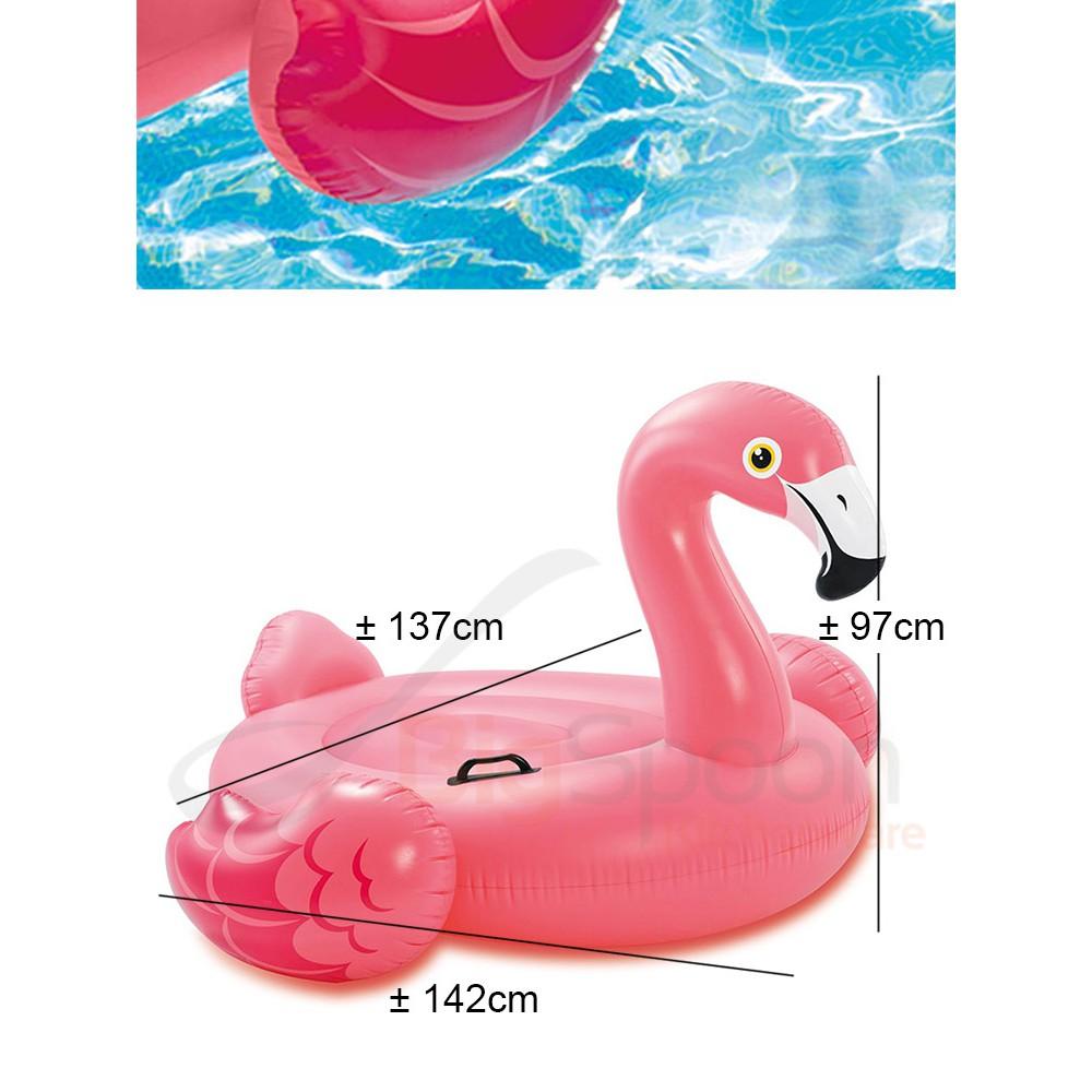 Phao bơi hồng hạc INTEX 57558