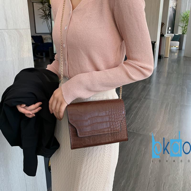 Túi đeo chéo nữ ZALI mini cá tính giá rẻ HY036