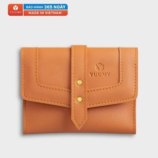 Ví da nữ mini nhỏ gọn đựng tiền đựng thẻ YUUMY YV29 nhiều màu thumbnail