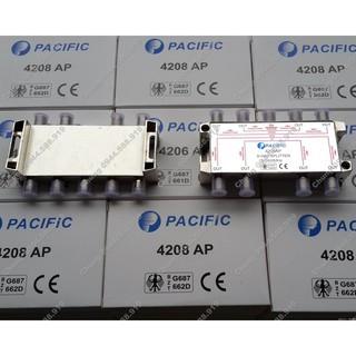 [Mã ELFLASH5 giảm 20K đơn 50K] Bộ chia 8 cao tần truyền hình cáp Pacific 4208AP