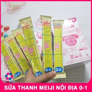 Lẻ Sữa Meiji Thanh 27gr Nội Địa Nhật - Sữa Thanh Meiji thumbnail