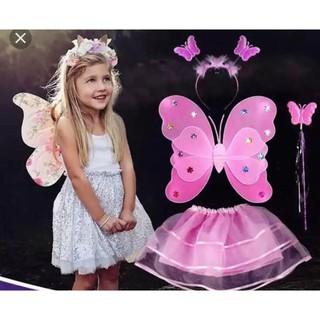 Bộ cánh bướm cho bé cam kết đẹp