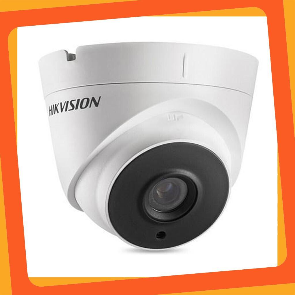 [Giá Sập Sàn] Camera HD-TVI Bán cầu hồng ngoại 40m ngoài trời 5MP HIKVISION DS-2CE56H1T-IT3 (Trắng) bảo hành 24 tháng