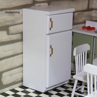 Tủ Lạnh Gỗ Mini Cho Nhà Búp Bê Tỉ Lệ 1 12 thumbnail