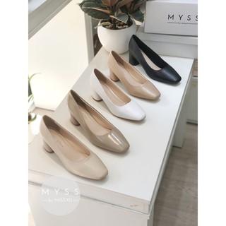 Giày mũi vuông gót trụ 5 cm Myss - CG183 thumbnail