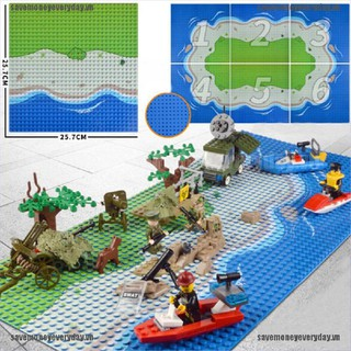 [Save] Plastic The island Crossroad Curve Meadow Road Plate Building Block Parts Bricks [VN]