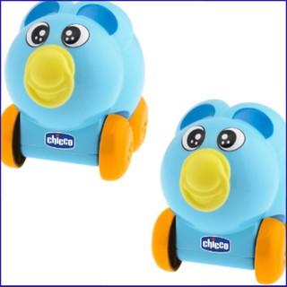 (Cực Sock)Sản phẩm Đồ chơi lăn bánh phát nhạc Gấu xanh Chicco
