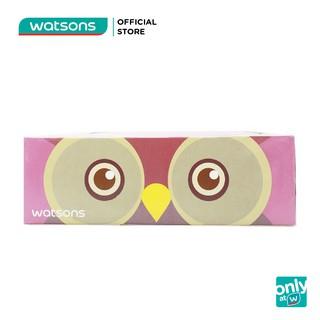 Khăn Giấy Hộp Watsons Velvety Soft Box Tissues Parrot & Owl Mềm Mịn 3 Lớp 100 Miếng Nhiều Mẫu thumbnail