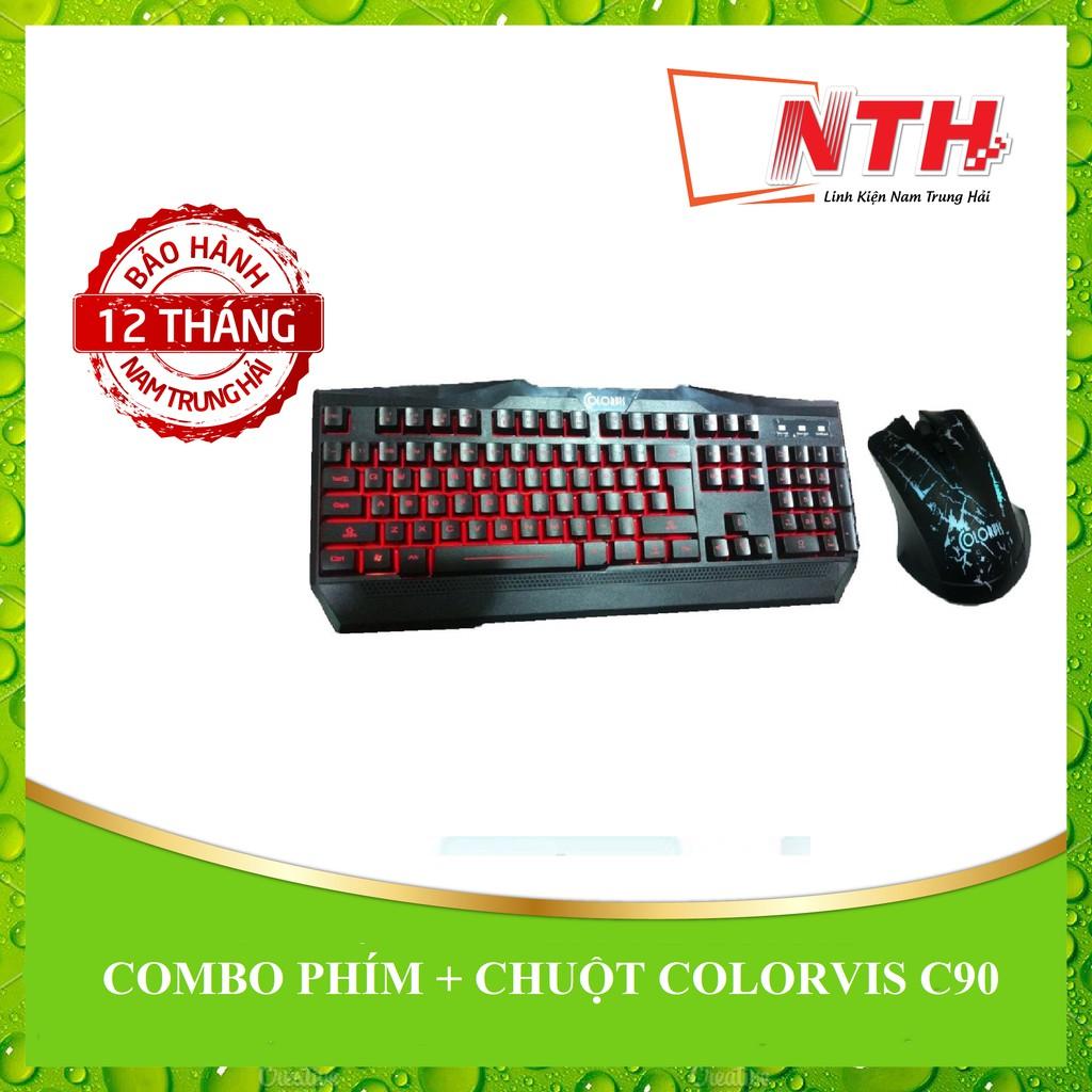 [NTH] Combo phím + chuột Colorvis C90