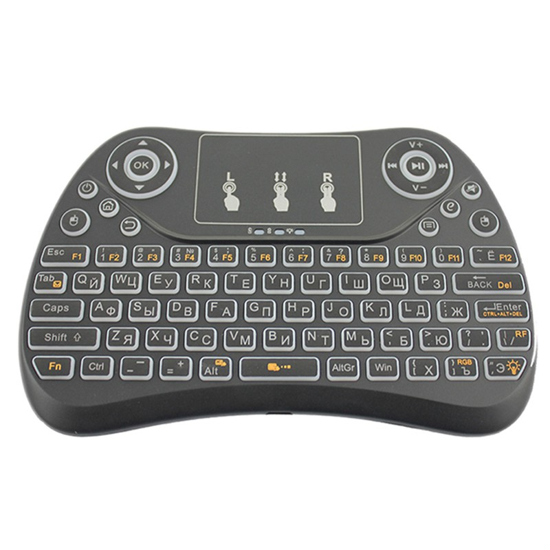 T2-C Wireless Russian Keyboard With Multimedia Remote Control Flying Mouse Keyboard 2.4Ghz Usb Recha