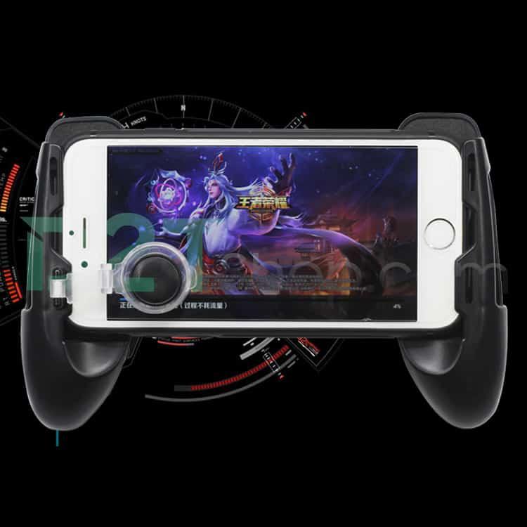 Tay cầm game, kèm nút di chuyển cho điện thoại ( Liên quân Mobile, PUBG , ROS , Free Fire )