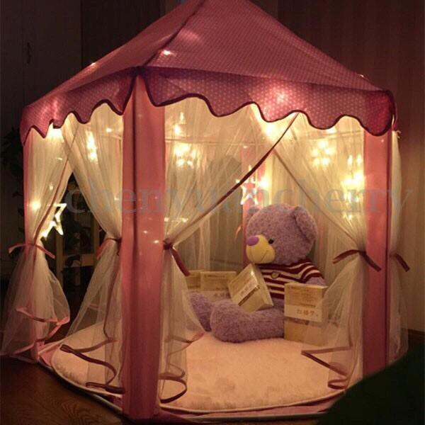 Lều lục giác công chúa ( hoàng tử ) chỗ chơi cho các bé