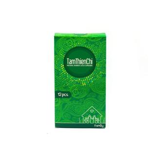 [Mã COS0408 hoàn 10% xu đơn 399K] Bao cao su Tâm Thiện chí Family hộp 12 cái siêu mỏng không mùi cao su