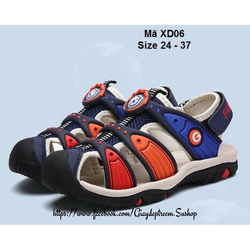 Sandal Bít Mũi Sportychic Cho Bé Trai - XD06