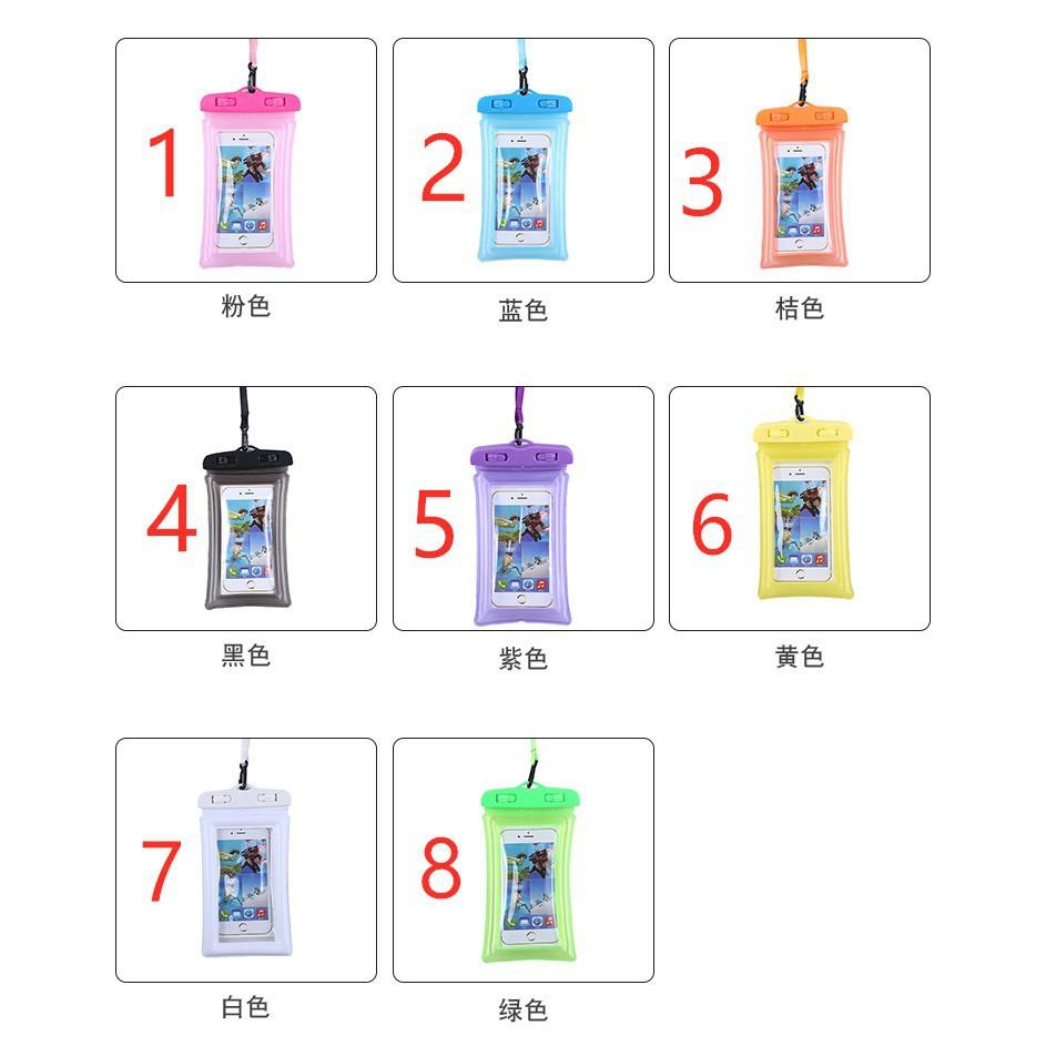 (ฟรีเชือกเส้นเล็ก) กระเป๋าโทรศัพท์กันน้ำ - กันน้ำกระเป๋าเทศกาลสงกรานต์
