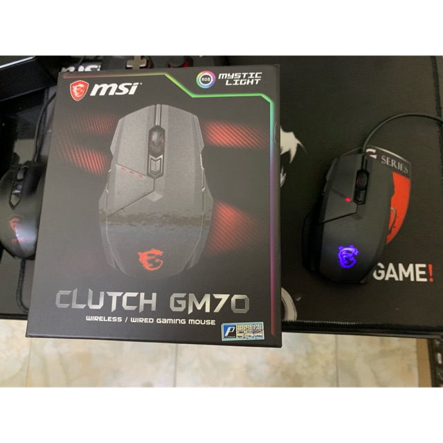 Chuột chơi game MSI Clutch GM70 Giá chỉ 1.550.000₫