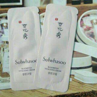 [Mã FMCGHB giảm 8% đơn 350k] kem dưỡng cô đặc phục hồi da trắng hồng căng bóng da Sulwhasoo sample