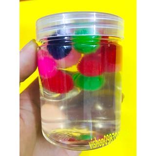 đồ chơi slime -chất nhờn slime hộp tròn thạch bi nhiều màu mã XEF79 S[DEAL TỐT]