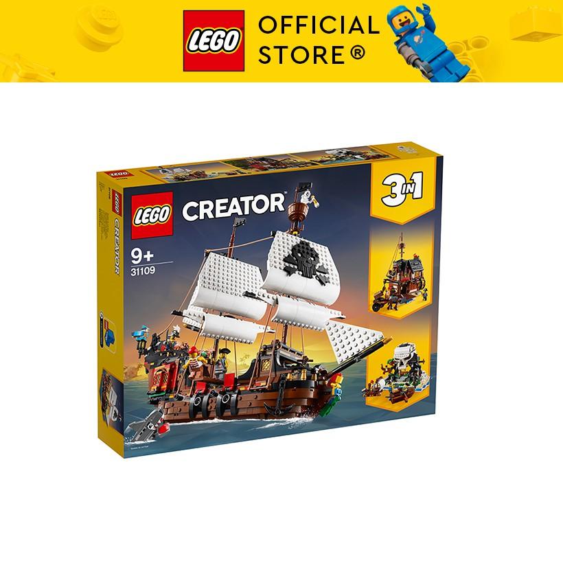 LEGO CREATOR 31109 Tàu Cướp Biển ( 1264 Chi tiết)