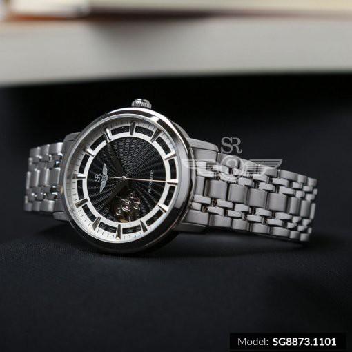 Đồng Hồ nam SRWATCH Automatic Open Heart SG8873.1101 mặt kính Sapphire Crystal,phong