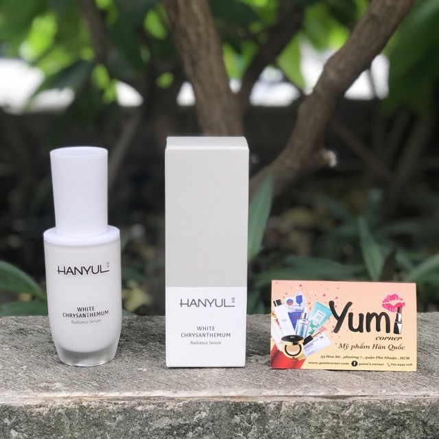 Tinh chất trị nám và dưỡng trắng Hanyul White Chrysanthemun Radiance Serum 40ml
