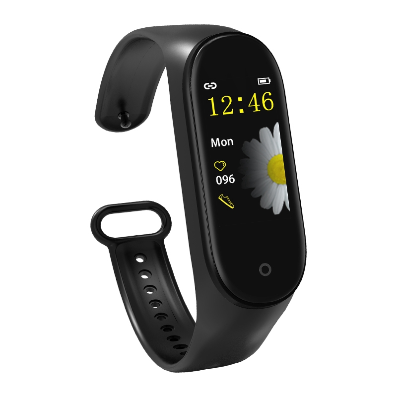 [ele] Bakeey M4 Lite Color Display All-time 5 Sports Mode Music Control Long Standby Smart Watch