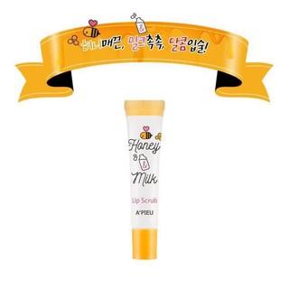 Tẩy tế bào chết môi A pieu Honey Milk Lip Scrub thumbnail